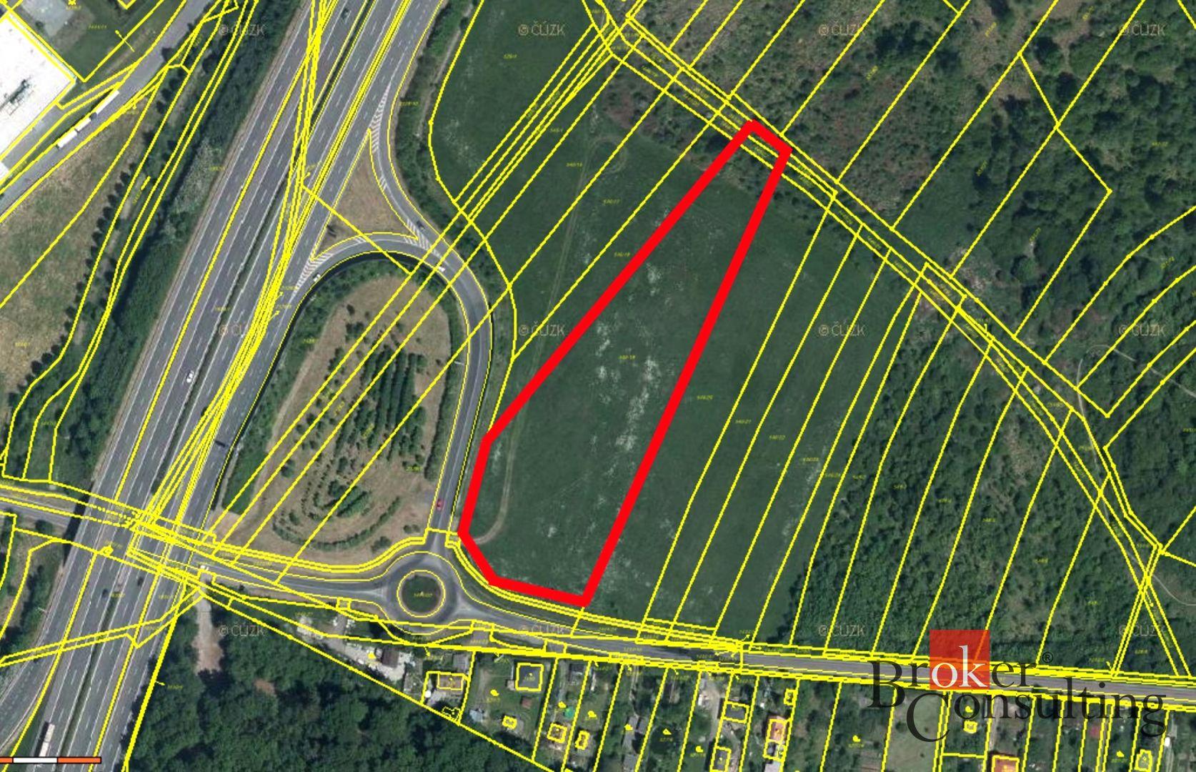 Prodej, pozemek, 11384 m2, Starý Plzenec
